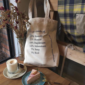 Life Composition Tote Bag