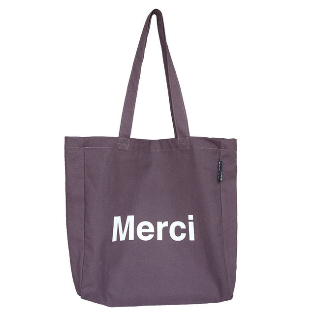 Merci Tote Bag