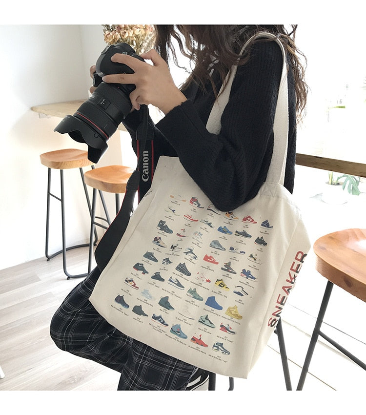 Sneakers Tote Bag