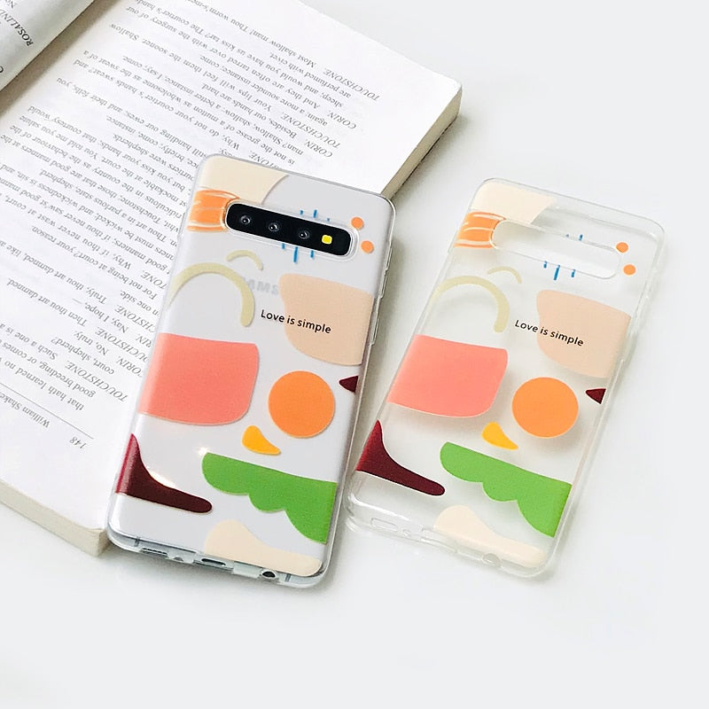 Abstract Samsung Case