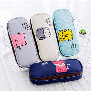 Kawaii Animal Pencil Case