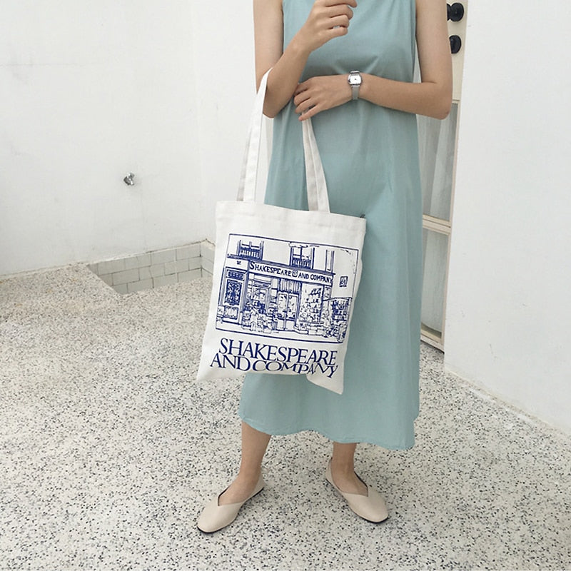 Shakespeare & Co Tote Bag