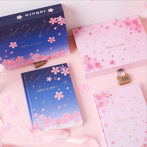 Sakura Magic Lock Box Notebook