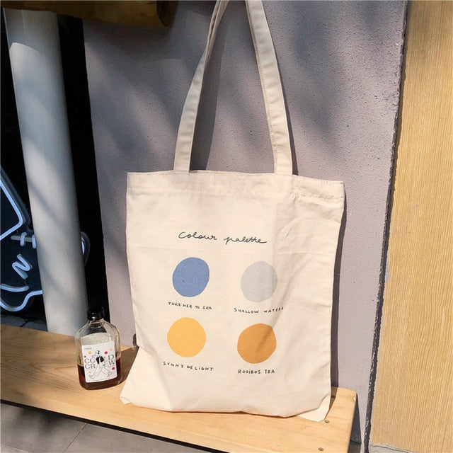 Colour Palette Tote Bag