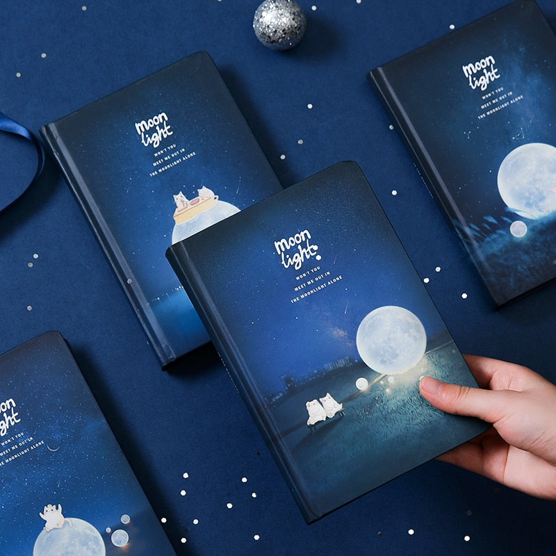 Moonlight Black Notebook