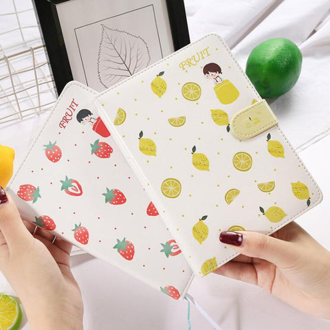 Kawaii Fruit Notebook