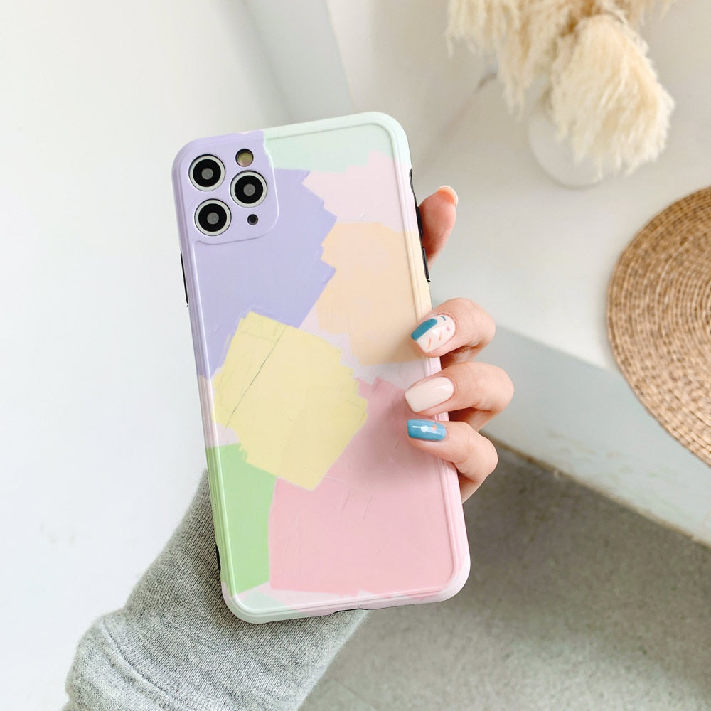 Pastel Paint iPhone Case