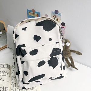 Cow Pattern Backpack