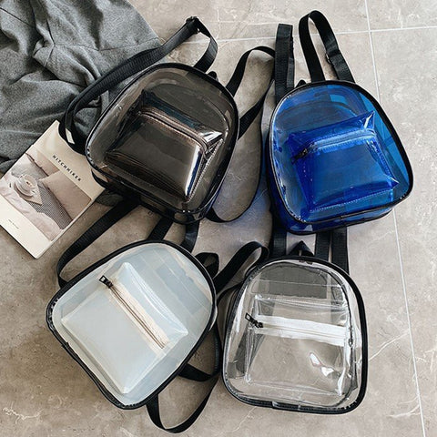 Transparent Mini Backpack