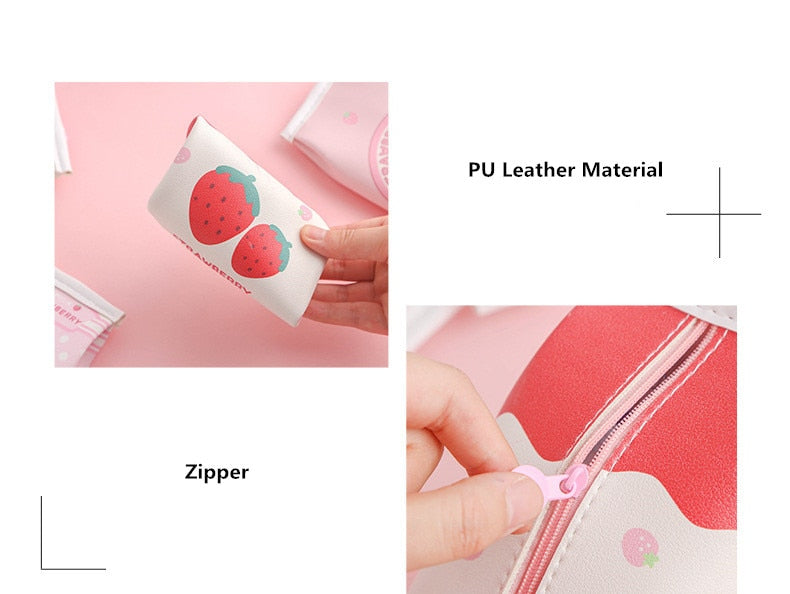 Strawberry Milk Pencil Case