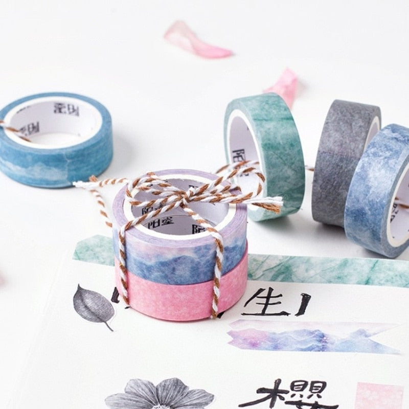 Nature Color Washi Tape (Set of 6)