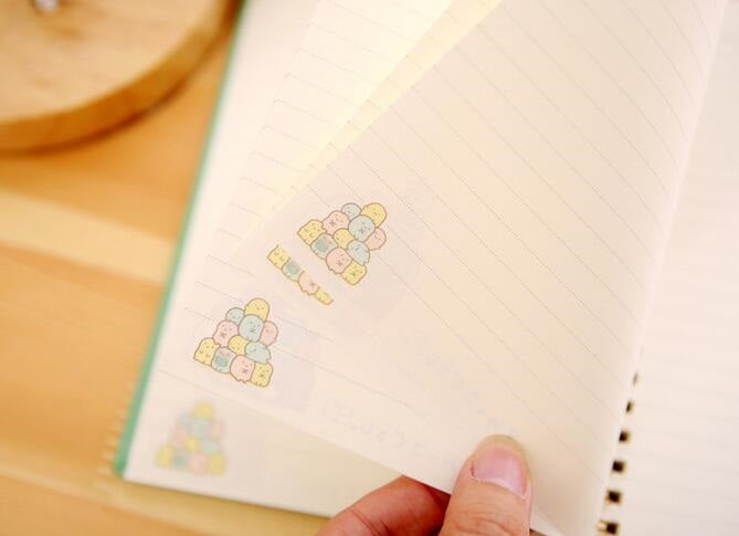 Japanese Cartoon Notebook
