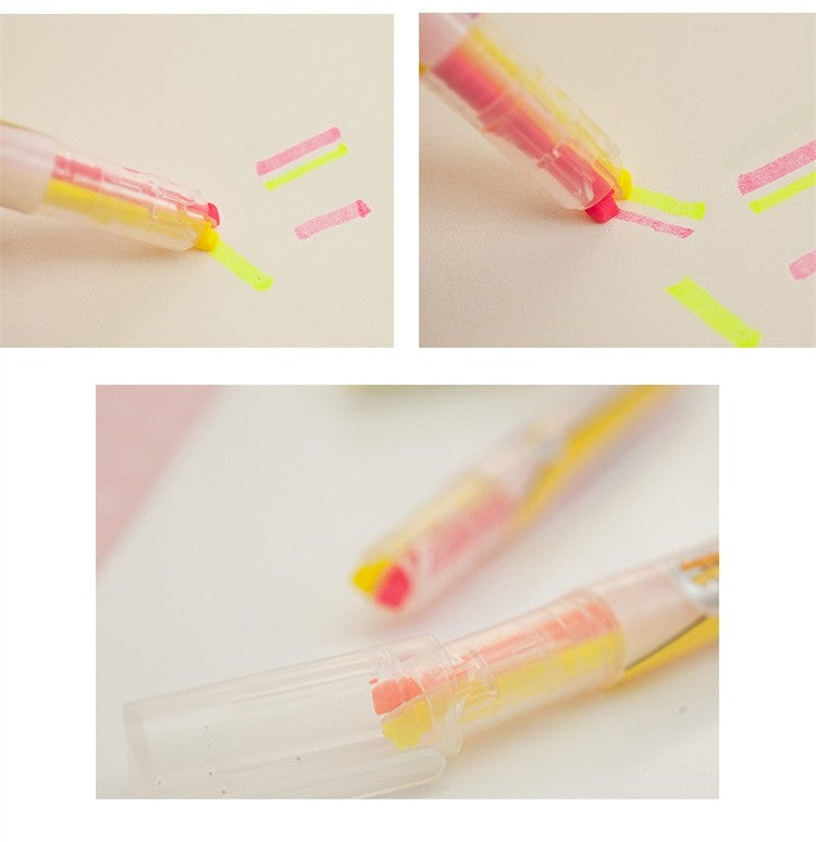 Dual Color Highlighter (Set of 5)