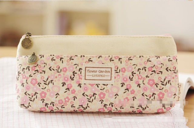 Flower Garden Pencil Case