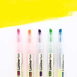 Lumina Twin Highlighter (Set of 5)
