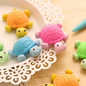 Kawaii Turtle Eraser