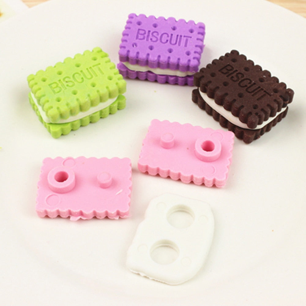 Biscuit Eraser (Set of 4)
