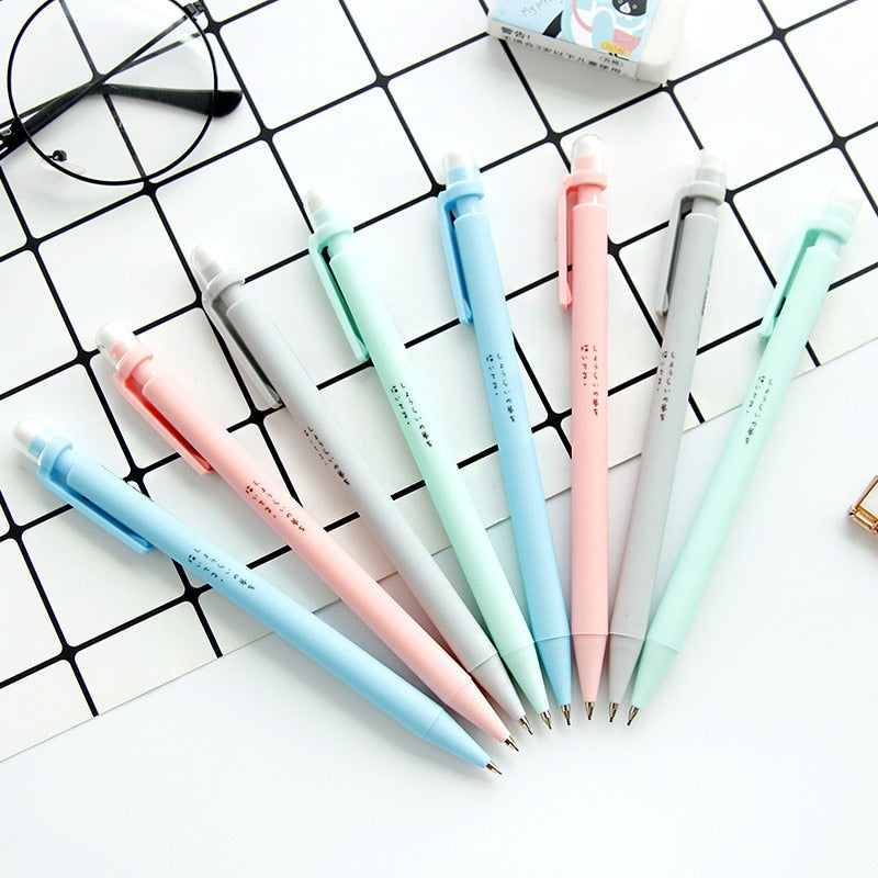 Kawaii Pastel Lead Pencil (Set of 4)