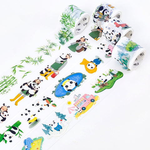 Kawaii Panda Washi Tape (Set of 4)