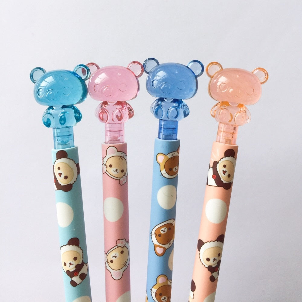 Rilakkuma Crystal Pencil (Set of 4)
