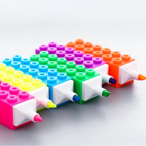 Building Blocks Highlighter (Set of 6)