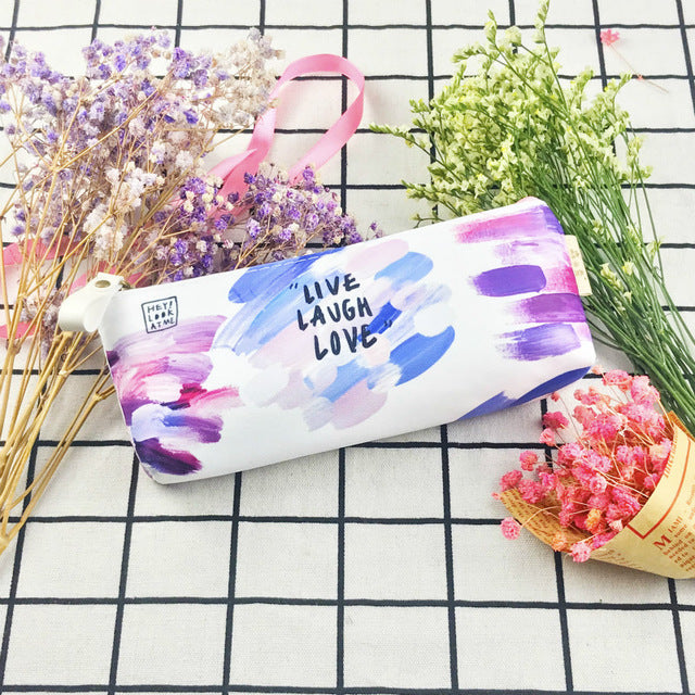 Painted Pencil Case
