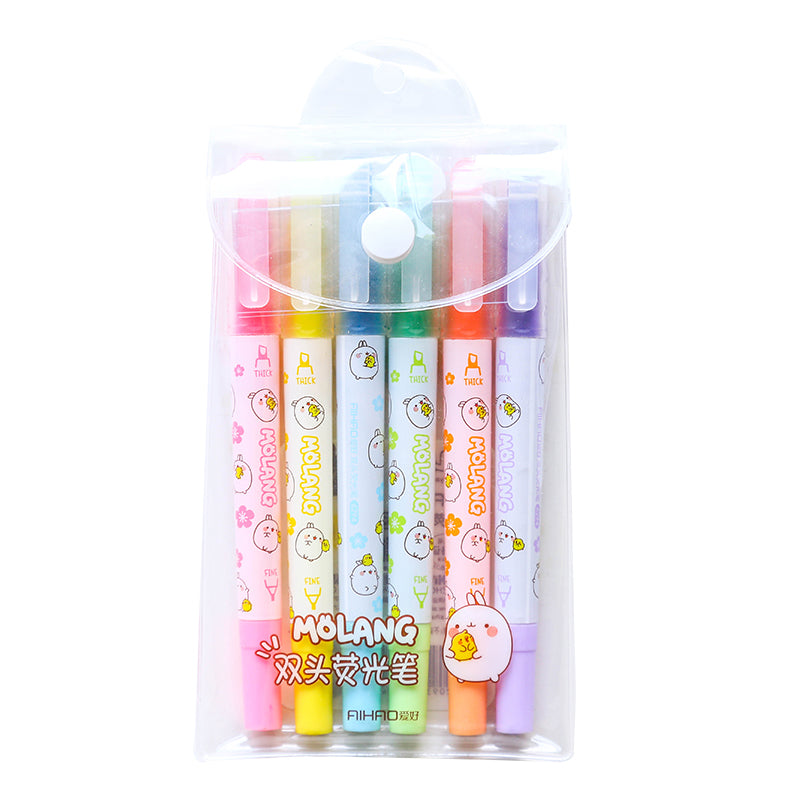 Molang Highlighter (Set of 6)