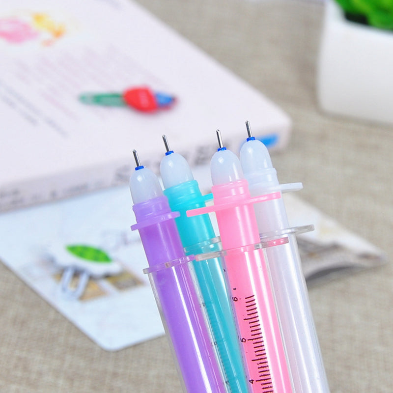Erasable Pastel Syringe Pens (Set of 4)