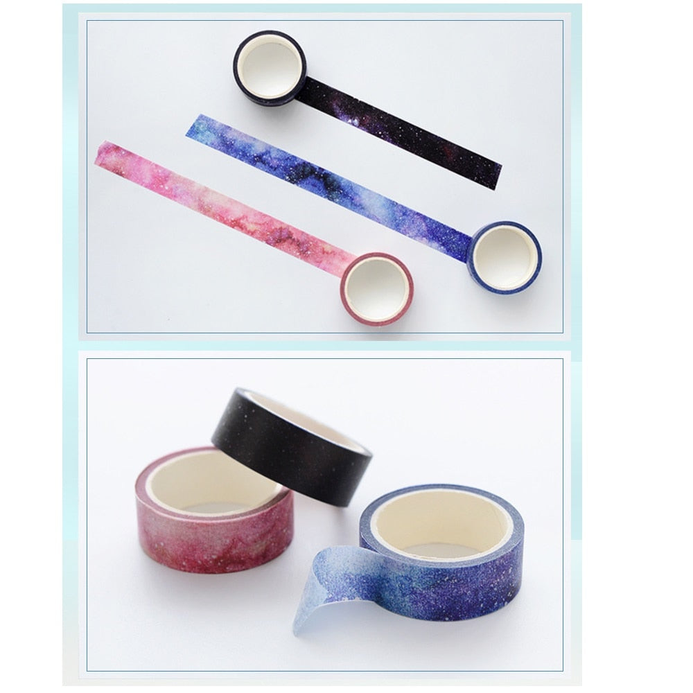 Starry Sky Washi Tape (Set of 8)
