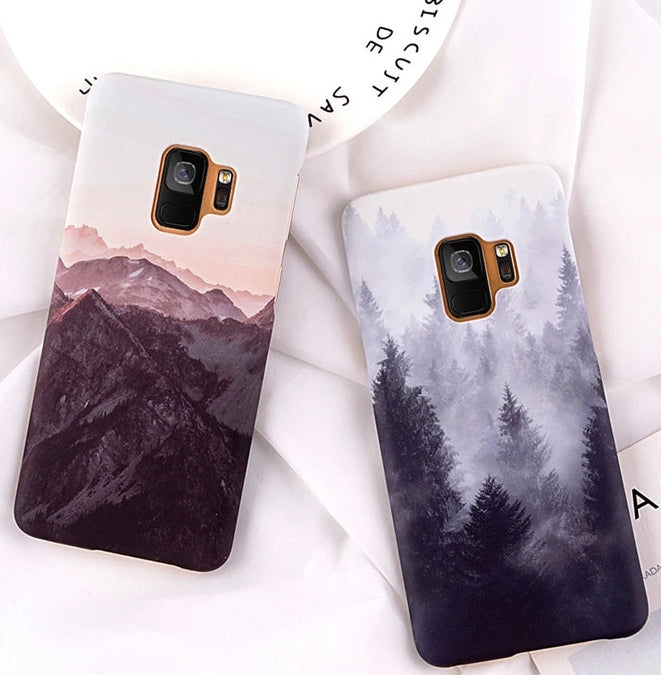 Mountain Scenery Samsung Case