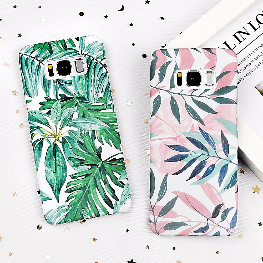 Leaves Samsung Case