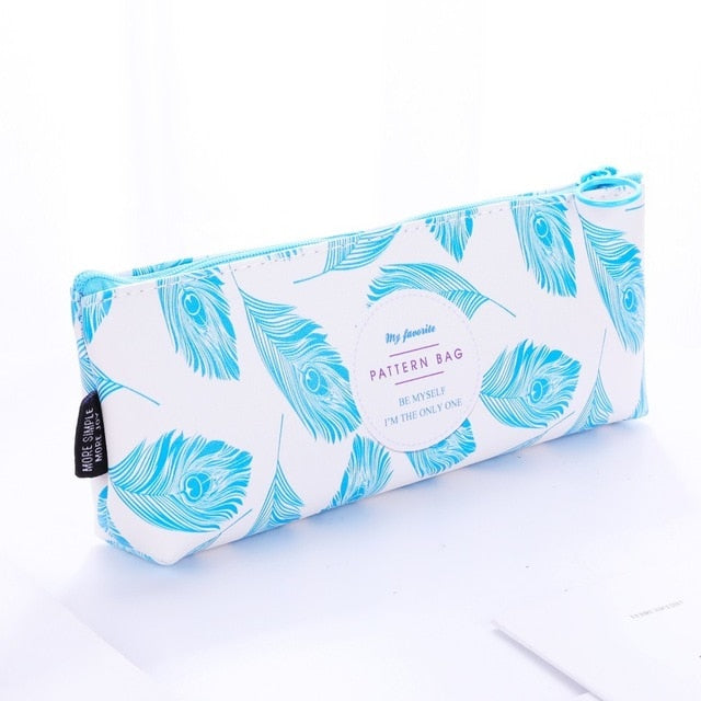 Feather Pencil Case
