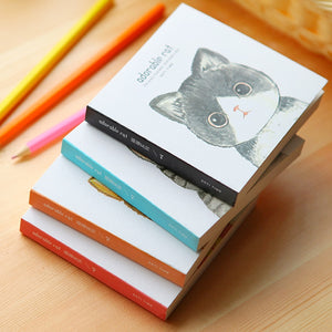 Adorable Cat Mini Notebook