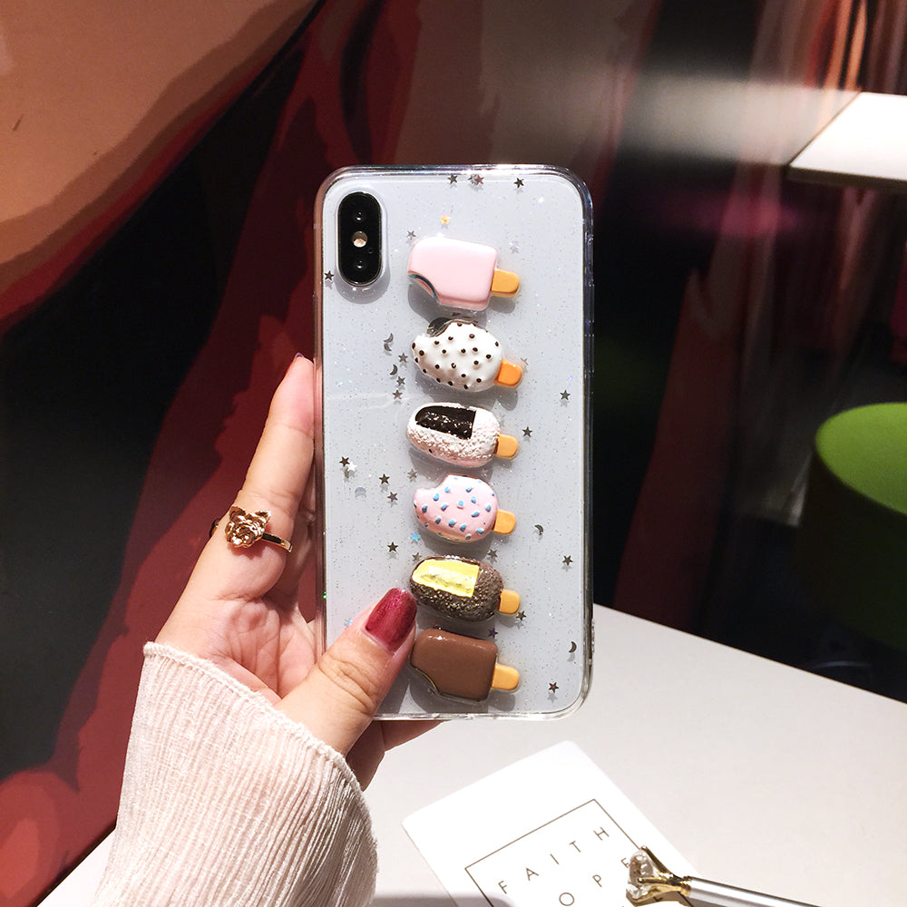 3D Ice Cream iPhone Case