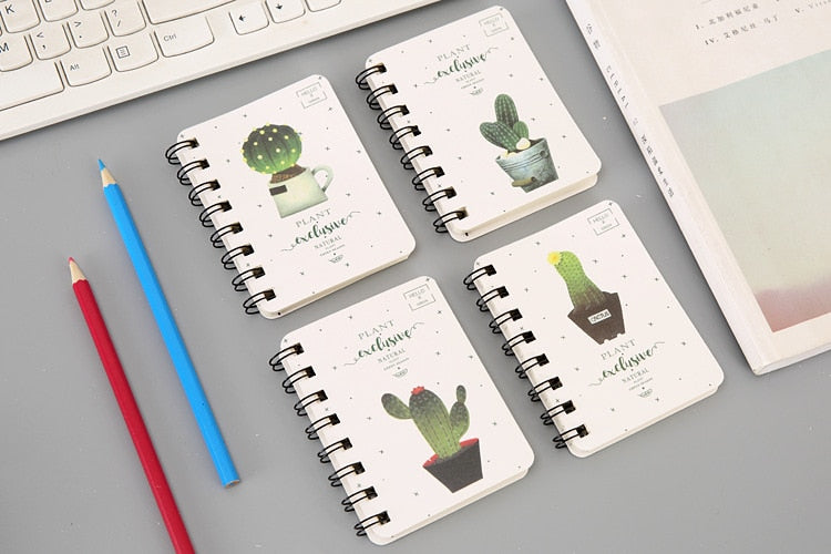 Cactus Mini Notebook