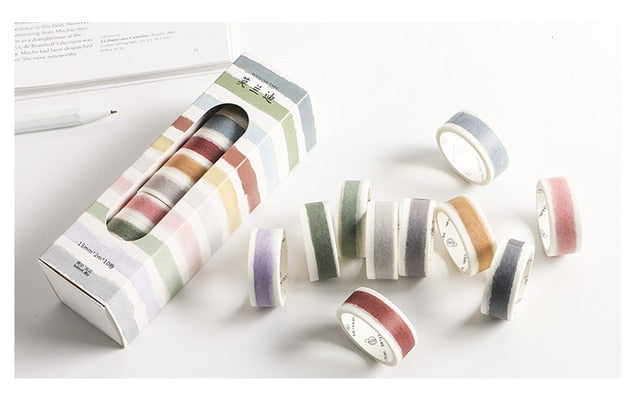 Vintage Washi Tape (Set of 10)