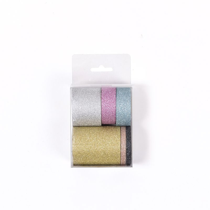 Glitter Washi Tape (Set of 6)