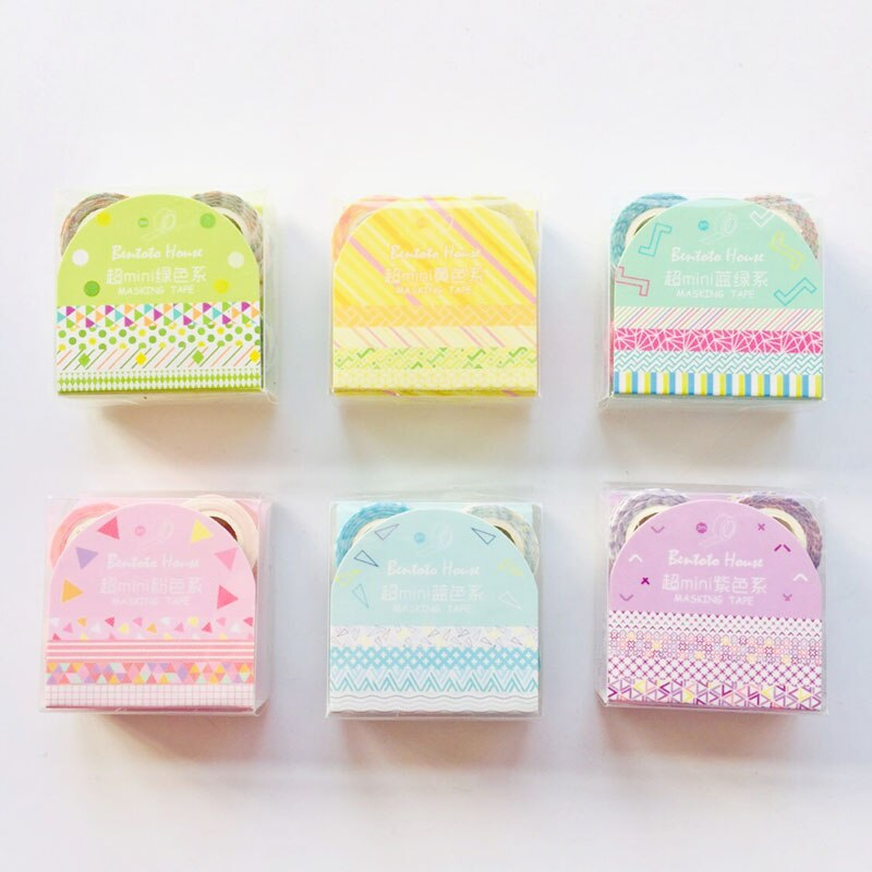 Mini Washi Tape (Set of 4)