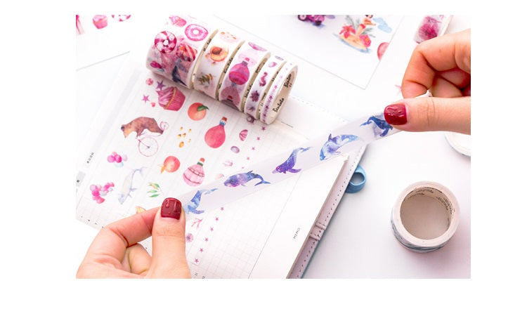 Candy Town Washi Tape (Set of 10)