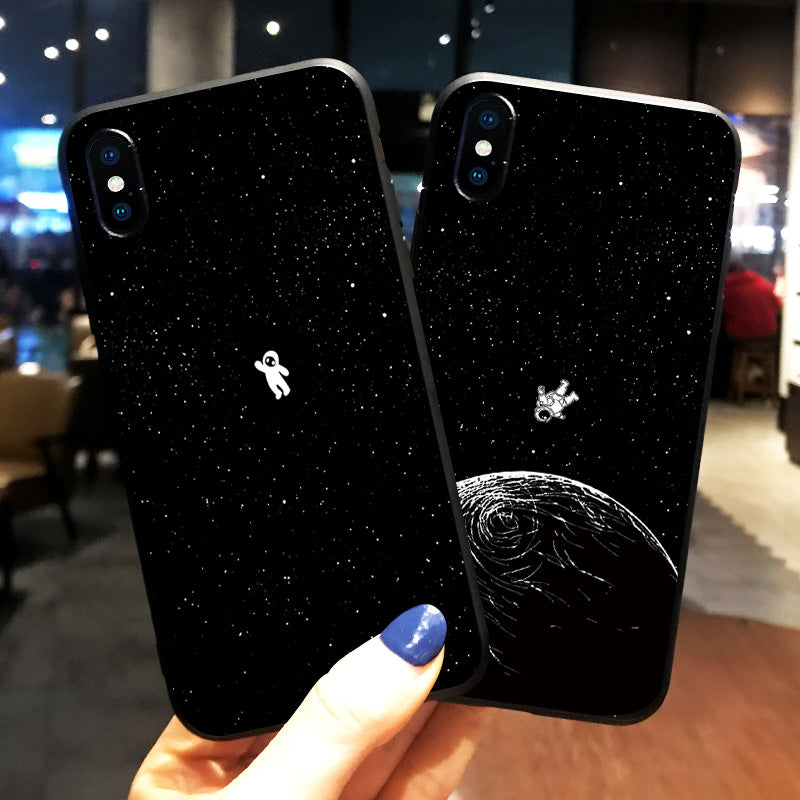 Wandering Moon iPhone Case