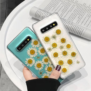 Dried Real Flower Samsung Case