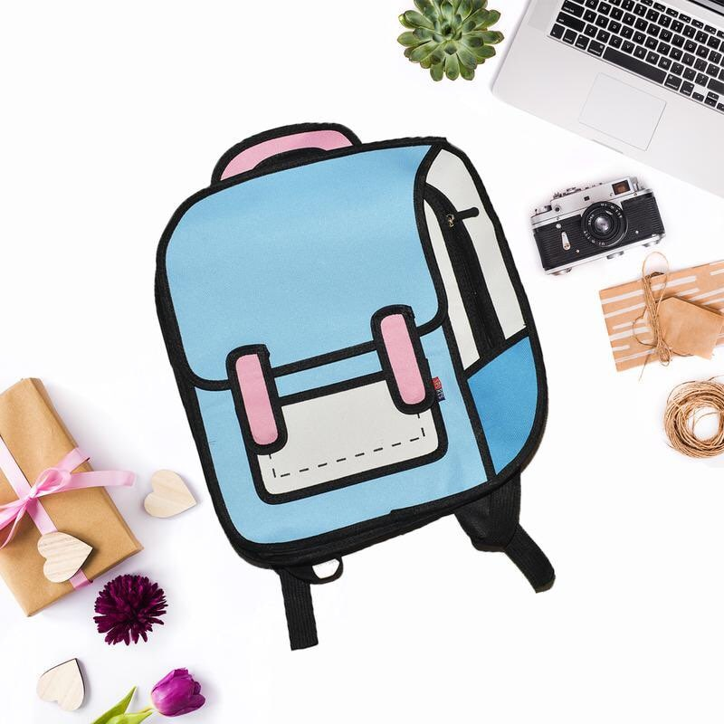 3D Cartoon Backpack