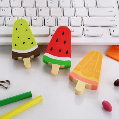 Ice Pop Eraser