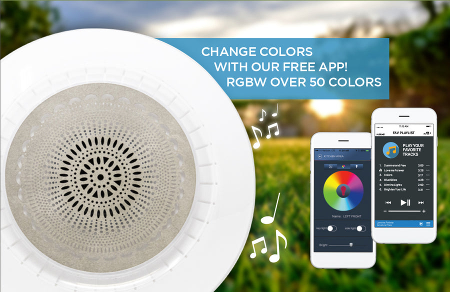Bluetooth® Music Garden Light