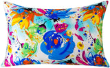 SLPBABY Silk Pillowcase for Hair and Skin with Hidden Zipper Print (King, Pattern14)