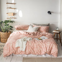 100%Cotton Twin Queen size Bedding Colorful Geometric Floral Nordic Duvet cover Bedding Bed sheet Pillow shams All season Soft