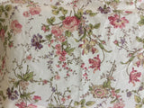 RALPH LAUREN Pillowcase Sham Standard Floral Shabby Chic Cottage Country Cotton