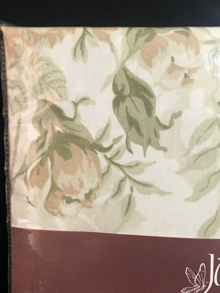 JANET REGER British Country Cottage Floral Pillowcase Cotton Percale Rose Garden
