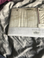 Harlequin ~ SALICE ~ standard pillowcase ~ indigo BNWT - plum pussy willow