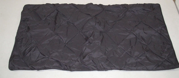 "(2) Pinch Pleated Shams ~ Charcoal ~ 20"" x 26"" Standard **NEW**"